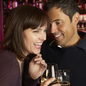 Singles Flirting At Bar Age 40 - 59